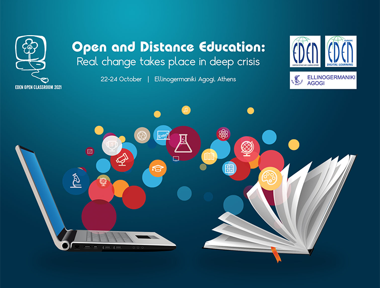 """Open Classroom Conference 2021 """"Real change takes place in deep crisis"""""""