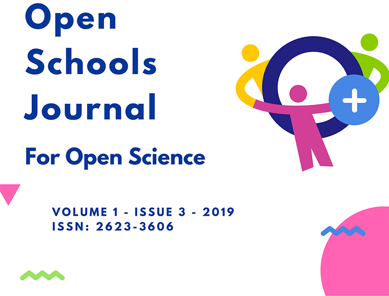 The third issue of the Open Schools Journal for Open Science
