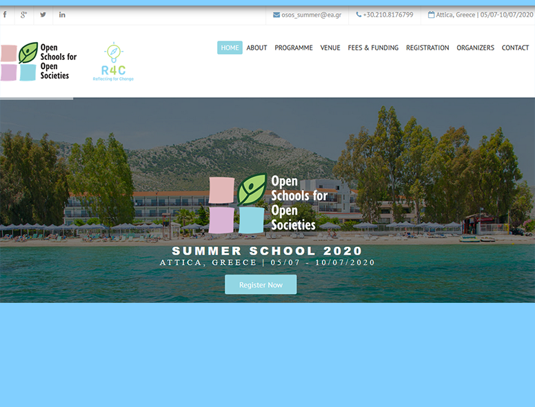 Join us at the OSOS Summer School to bring and sustain openness in your school.