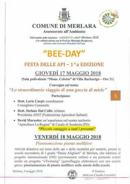 bee day invitation